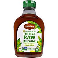 Madhava Natural Sweeteners, Органический Золотой Светло-голубой агавы, 23.5 унций (667 г)