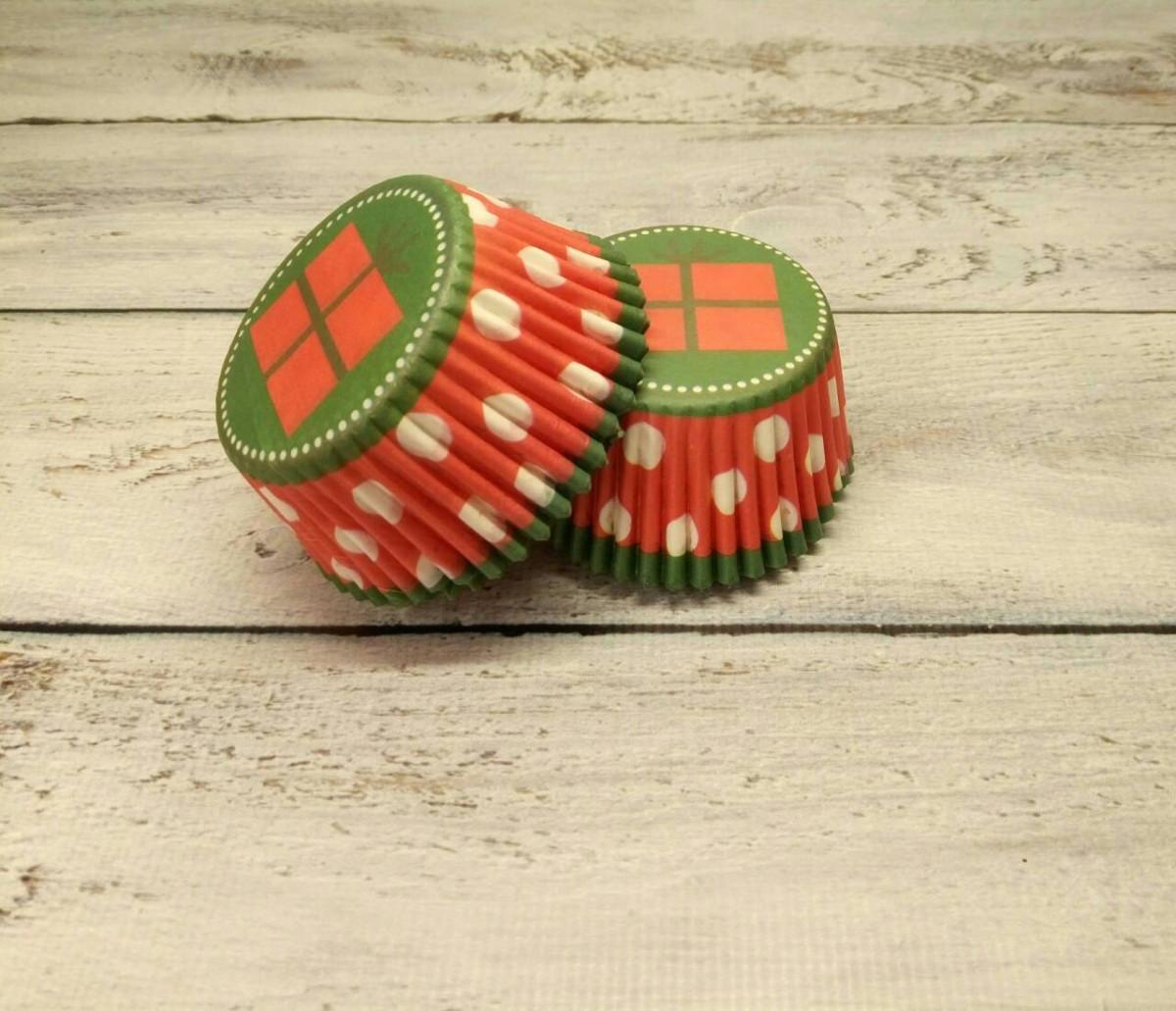 Тарталетки (капсулы) бумажные для кексов, капкейков Подарочек 500шт.
