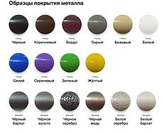 Металлическая кровать Бегония 1200 мм. х 1900 мм./2000 мм., фото 2