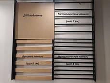 Металлическая кровать Кронус на деревянных ножках, фото 3