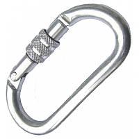 Карабин Kong Oval Alu Classic screw sleeve polish (7300001A1KK)