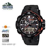 Мужские часы CASIO PRO TREK PRW-6000Y-1ER оригинал