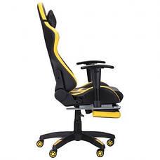 Кресло VR Racer BattleBee черный/желтый, фото 2