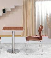 Опора для стола Тахо нержавейка h72 см D 45 см, фото 2
