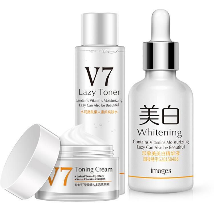 Набор косметики для осветления кожи Images V7 Whitening 3 in 1