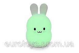 """Детский ночник-игрушка Click """"Hічні звірятка"""" Зайчик 14 см"""
