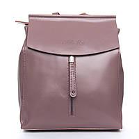 Сумка Женская из Натуральной кожи! Сумка Женская Рюкзак кожа ALEX RAI 08-2 3206 purple