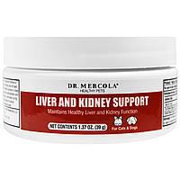Dr. Mercola, поддержка печени и почек для домашних животных, 1,37 унции (39 г)