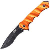 Нож складной Skif Plus Korvin (длина: 220мм, лезвие: 90мм), оранжевый