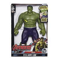 "Интерактивная фигурка Игрушка Супергерой (іграшка халк) Халк серии Титаны из к\ф ""Мстители"", 30 см - Hulk, Avengers, Titan Hero Tech, Hasbro"