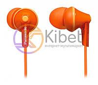 Навушники Panasonic RP-HJE125E-D Orange, Mini jack (3.5 мм), вакуумні, шнур 1,1 м