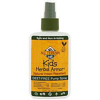 All Terrain, Растительное защитное средство для детей, Натуральное средство от насекомых, 4 жидких унции (120 мл)