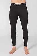 Мужские спортивные утепленные штаны Radical Sprinter L Черно-красные (r0479)