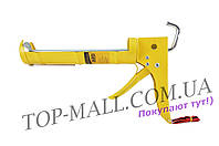 Пистолет для силикона Сила - 225 мм, сплошной усиленный