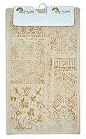 Набор ковриков в ванную Arya Eskitme Слоновая Кость 60х100 + 60х50