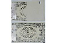 Набор ковриков в ванную Arya Venus Серый 60х100 + 60х50
