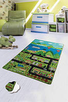 Ковер детский безворсовый  Chilai Home 100х160см., Happy city