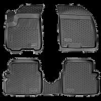 Коврики в салон Chevrolet Aveo (03-12) (полимерные) L.Locker