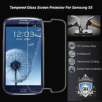 Защитное каленное стекло для Samsung i9300, i9300i, i9308 Galaxy S3, Galaxy S3 neo duos