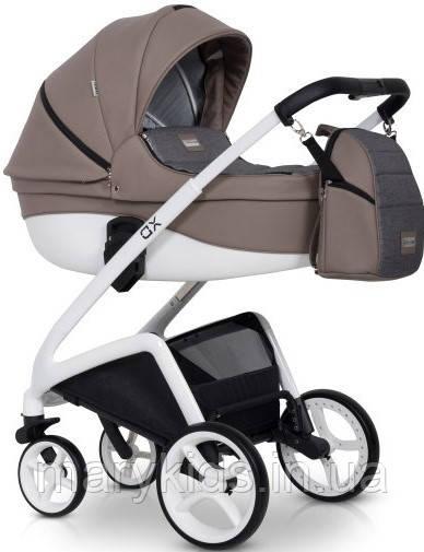 Детская универсальная коляска 2 в 1 Riko XD 02 Capuccino