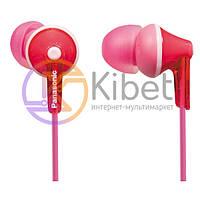 Навушники Panasonic RP-HJE125E-P Pink, Mini jack (3.5 мм), вакуумні, шнур 1,1 м