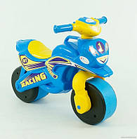 "Акция! Мотобайк ""Спорт"" муз. 0139/1 (1) цвет голубо-желтый ""ФЛАМИНГО"" [Распродажа! Спешите, количество товара ограничено!]"
