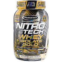 Muscletech, Nitro Tech, Whey Plus Isolate Gold, Cookies and Cream, 2.01 lbs (913 g)