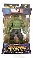 """Фигурка Халк (Марвел) с держателем, """"Мстители: Война бесконечности"""" Игрушка Супергерой (іграшка халк) - Hulk, Avengers, Infinity War, Marvel"""