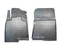 Полиуретановые передние коврики для Mitsubishi Pajero Wagon IV 2007- (AVTO-GUMM)