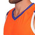 Форма баскетбольная мужская (оранжевый), фото 3