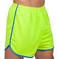 Форма для легкой атлетики мужская (лимонный-синий), фото 2