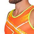 Форма для легкой атлетики мужская (оранжевый-желтый), фото 3