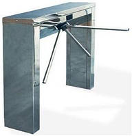 Тумбовый турникет - трипод TWIX, с электромеханической антипаникой. Нержавеющая сталь полированная. , фото 1