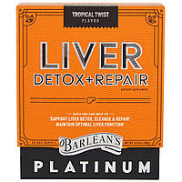 Barlean's, Средство для вывода токсинов и восстановления печени, тропический твист, 6,35 унций (180 г)
