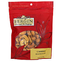 Bergin Fruit and Nut Company, Кешью жареный, соленый, 170 г (6 унций) (Discontinued Item)