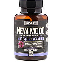 Onnit, New Mood, Mood & Relaxation, 30 Capsules