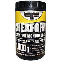 Primaforce, Creafrom, моногидрат креатина, без вкуса, порошок, 2.2 фунта (1000 г) (Discontinued Item)