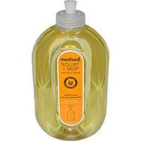 Method, Squirt + MOP, «Сбрызни и протри», средство для очистки полов, имбирный юдзу, 25 жидких унций (739 мл)