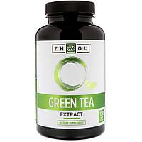 Zhou Nutrition, Экстракт зеленого чая, 120 вегетарианских капсул