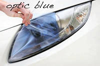 Голубая тонировочная пленка для оптики авто Vissbon