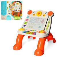 Развивающий детский дитячий игровой столик (доска для рисования) арт. 838-24