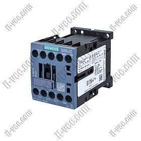 Контактор Siemens 3RT2016-1BB41, AC-3 4kW 400V, 1NO, 24VDC