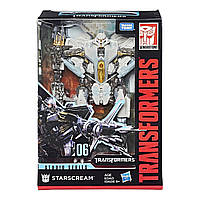 Робот детский Трансформер десептикон Старскрим - Starscream, Voyager Class, Studio Series, Takara Tomy, Hasbro