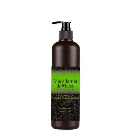 MACADAMIA DE LUXE шампунь для волос с маслом макадамии 1000 мл, фото 2