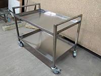 Тележки для посуды из нержавеющей стали