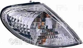 Указатель поворота Nissan Almera '00-06 правый, белый (DEPO)