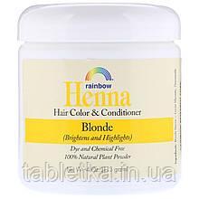 Rainbow Research, Henna, 100% растительная краска для волос и кондиционер, Персидский блонд, 4 унции (113 г), в форме порошка