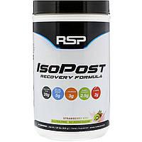 RSP Nutrition, IsoPost, восстановительная формула, клубника и киви, 1,85 ф. (820 г)