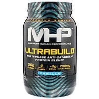 Maximum Human Performance, LLC, UltraBuild, Vanilla, 1.75 lb (792 g)