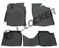 3D Коврики в салон Geely CK2 (09-) (полимерные) L.Locker